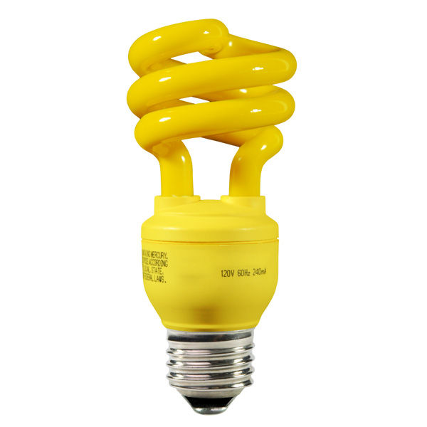Luz CFL para insectos