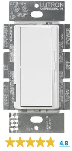 Leviton IllumaTech IPI10-1LZ - 1000W Max. - Dimmer incandescente