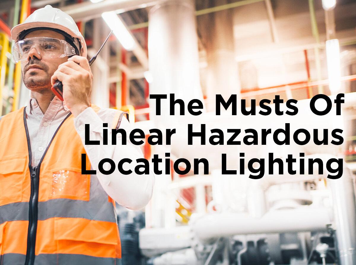 Las Cuatro Es: Los deberes de la iluminación lineal de zonas peligrosas