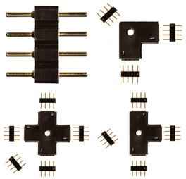 Conectores de luz de cinta